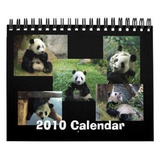 2010 de Kalender van de Panda