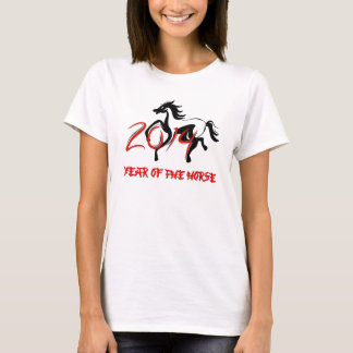 2014 ans du T-shirt de cheval