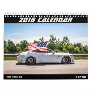2016 calendrier de mustang - mustang6.com