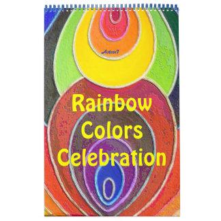 2016 de Regenboog van de Kunst van de kalender