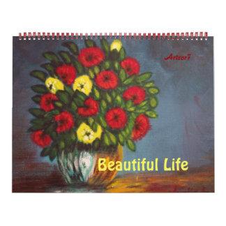 2016 Reusachtige Bloemen van de Kunst van de Kalender