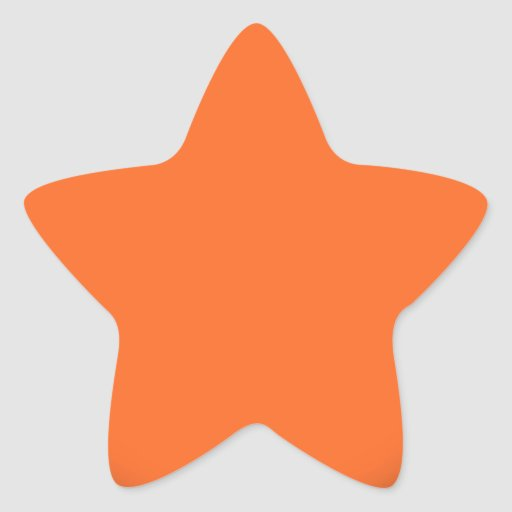 202__NEON-ORANGE-BRAD ROZE CIRKEL POLKADOT TEMPLAT STER STICKERS