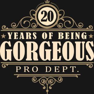 Verjaardag 20 Jaar Cadeaus Zazzle Be
