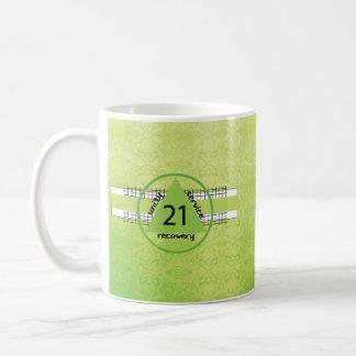 21ème Tasse de cadeau d'anniversaire de