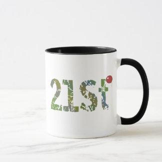 21ème Tasse de cadeaux d'anniversaire