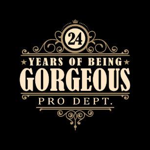 24ste Verjaardag Cadeaus Zazzle Be