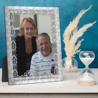 25ste de fotoplaque van het Jubileum Fotoplaat