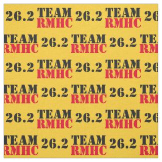 26,2 Tissu de l'équipe RMHC