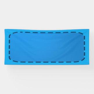 2.5 de Sjabloon van de ' x 6 ' Banner DIY voegt