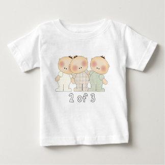 2 de 3 triplets t-shirt pour bébé
