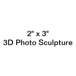 """2"""" personnalisé x 3"""" sculpture en photo photo sculpture"""
