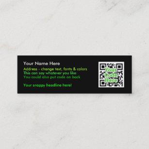 2D Cartes De Visite Code