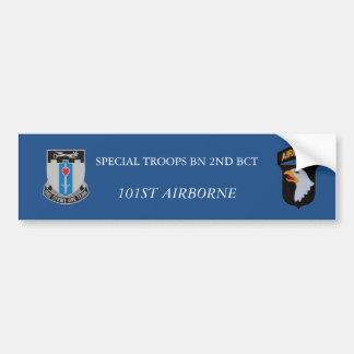 2ème ADHÉSIF POUR PARE-CHOCS de BCT 101ST ABN de Autocollant De Voiture