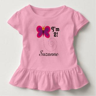 2ème Anniversaire je suis T-shirt de 2 filles de