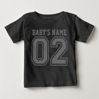 2ème Anniversaire (le nom du bébé personnalisable) T-shirt Pour Bébé