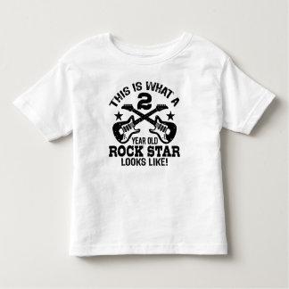 2ème Anniversaire T-shirt Pour Les Tous Petits