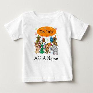 2ème T-shirt personnalisé d'anniversaire de