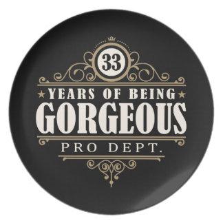 33ste Verjaardag (33 Jaar van Schitterend het Bord