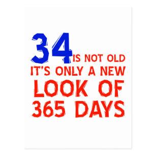 34 jaar oud