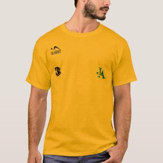 #3 Jamaïque JA folâtre le T-shirt