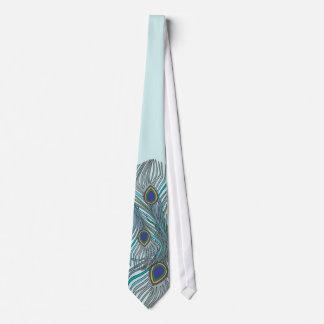 3 mariages de la cravate 4 de paon d'AquaFeathers