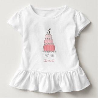 3ème fête d'anniversaire de la fille rose t-shirt pour les tous petits