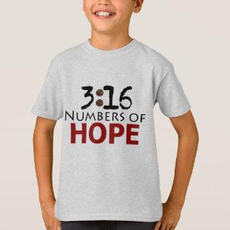 3h16 de John, nombres de message de chrétien T-shirt