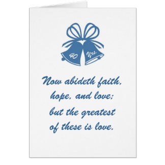 40 ans d'amour carte de vœux