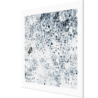 """40"""" x 40"""" résumé noir et blanc toiles"""
