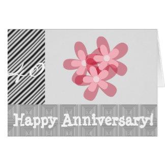 40ste huwelijksverjaardag wenskaart