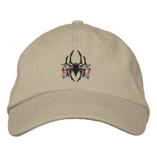 4/7 casquette de logo d'araignée