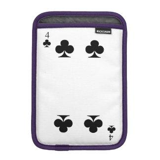 4 de clubs housse pour iPad mini