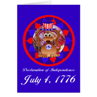 4 juillet cartes