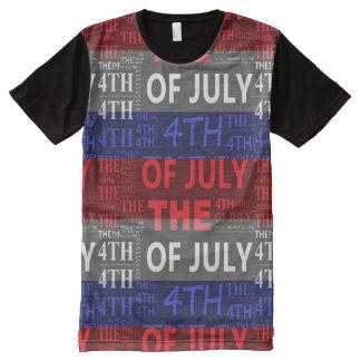 4 juillet partout le T-shirt