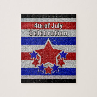 4 juillet puzzle de célébration