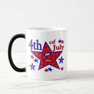 4 juillet tasse de café