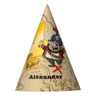 4ème Carte de trésor de pirate d'anniversaire Chapeaux De Fètes