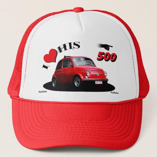 500 pilote casquette