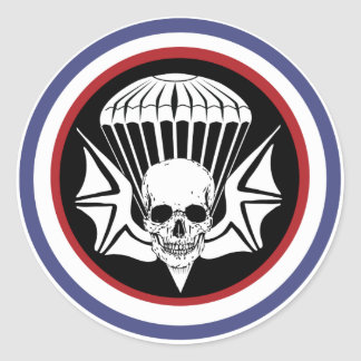 502nd PIR Sticker Rond