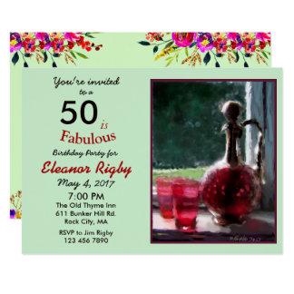 50 est la cinquantième invitation fabuleuse