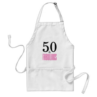 50 et tablier fabuleux d'anniversaire