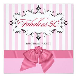 50 fabuleux - Invitations faites sur commande de