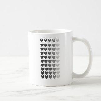 50 nuances des formes grises de coeur mug