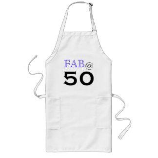 """""""@ 50"""" ouvrier tablier de fête d'anniversaire"""