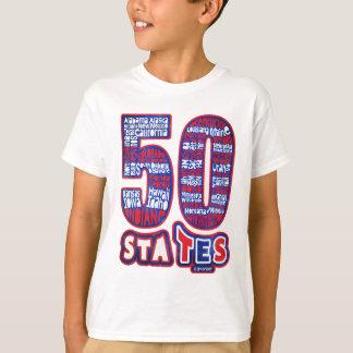 50 STATES UTILISE T-SHIRT
