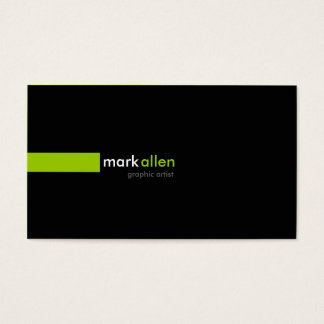 519 modernes faits sur commande carte de visite standard