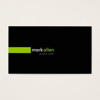 519 modernes faits sur commande cartes de visite