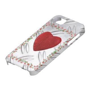 5 cadres de rose iPhone coeur Coques iPhone 5 Case-Mate