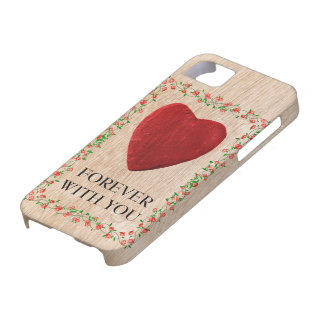 5 Forever iPhone with you Coque Barely There iPhone 5