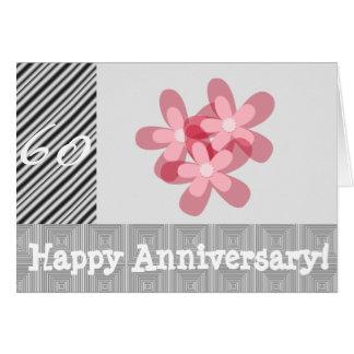 60ste huwelijksverjaardag wenskaart